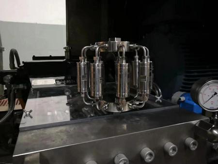 生产型微射流高压均质机核心部件微射流交互腔