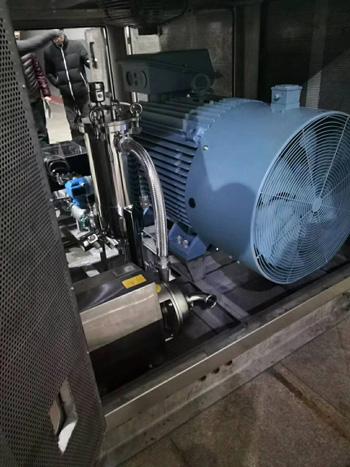 生产型微射流高压均质机动力单元细节