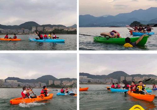 皮划艇水仗